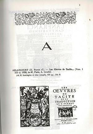 Répertoire de livres à figures du XVIIe siècle: TCHEMERZINE (Madame Stéphane ...