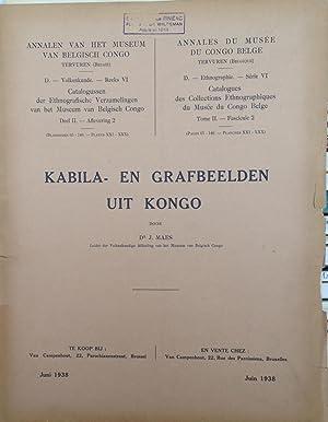 Kabila- Een Grafbeelden uit Kongo Ethnographie -: MAES (J.)