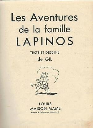 Les aventures de la famille lapinos par gil maison mame for Aventures de maison