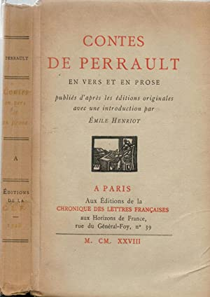 Contes de Perrault en vers et en: PERRAULT ; HENRIOT