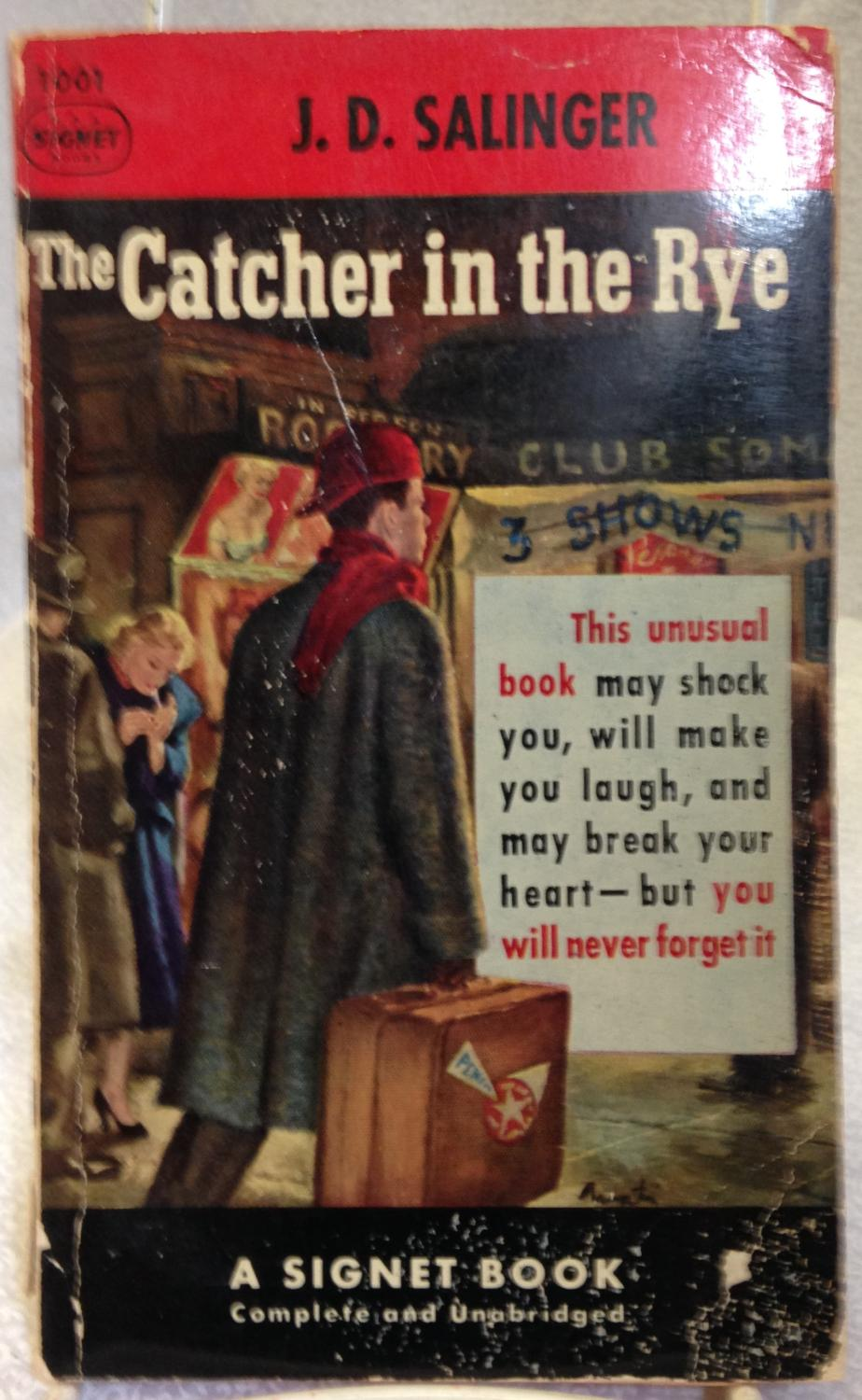 jd salingers catcher in the rye holdens phony phobia Happy oscar hangover watching argo get best adapted screenplay reminded me how desperate j d salinger was to make sure the catcher in the rye never made it.