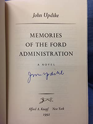 Memories of the Ford Administration: Updike, John