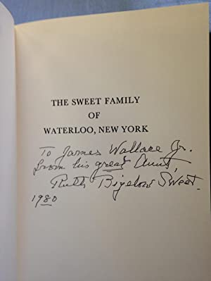 The Sweet Family of Waterloo, New York: Sweet, Ruth Bigelow
