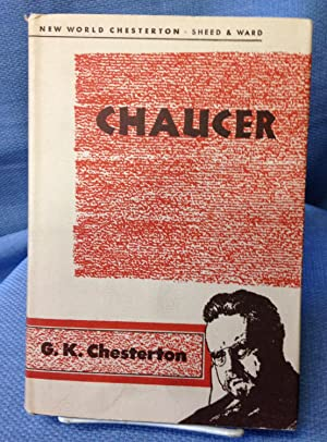 Chaucer: G.K. Chesterton