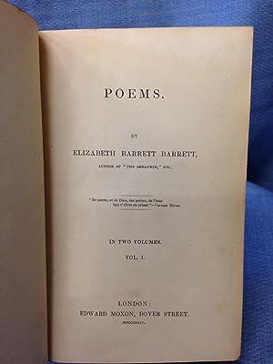 Poems: Elizabeth Barrett Barrett