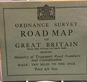 Ordnance Survey Road Map of Great Britain