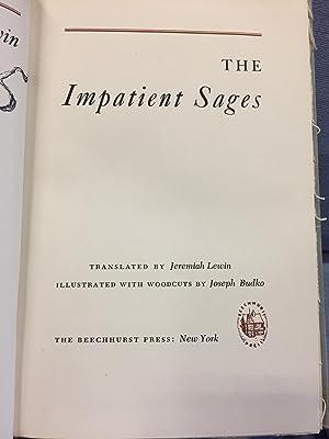 The Impatient Sages: Samuel Lewin