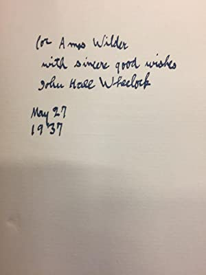 The Bright Doom. a Book of Poems.: John Hall Wheelock