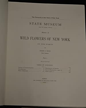 Wild Flowers of New York. Two Volumes.: Homer D. House