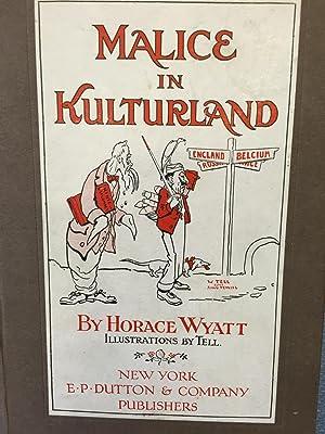 Malice in Kulturland: Horace Wyatt