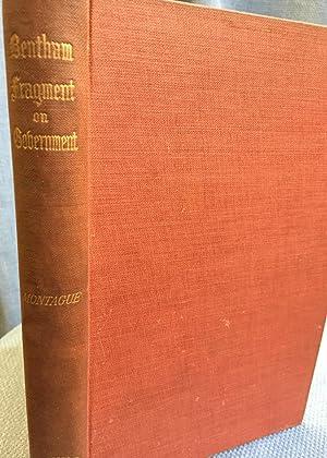 A Fragment on Government: Jeremy Bentham
