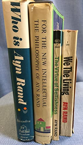 Group of Early Editions: Ayn Rand