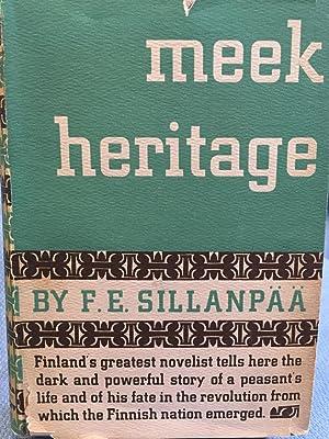 Meek Heritage: F. E. Sillanpaa