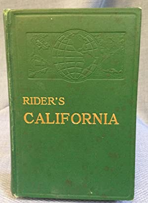 Rider's California. a Guide-Book for Travelers. With: Fremont Rider