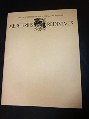 Mercurius Redivivus: Being An Occasional News-Letter from the William Andrews Clark Memorial Libr...