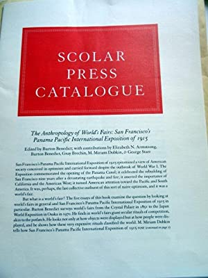Scolar Press Catalogue. 1983/1984