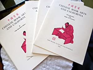 Chinese Book Arts and California. For the Members of The Book Club of California, 1996.