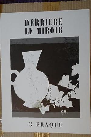 Derriere Le Miroir No. 25-26 G. Braque.: Maeght, Adrian, editor.
