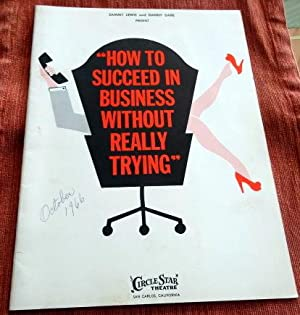 How to Succeed in Business Without Really Trying. Staring Rick Nelson and Rudy Vallee. Souvenir ...