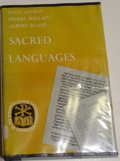 Sacred Languages: Auvray, Paul, Pierre