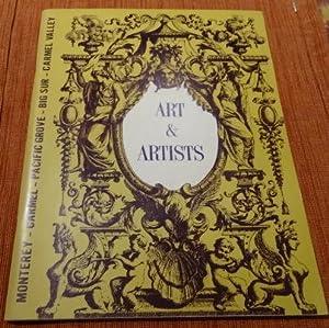 Art & Artists of the Monterey Peninsula.: Harbick, Lee. Intro.