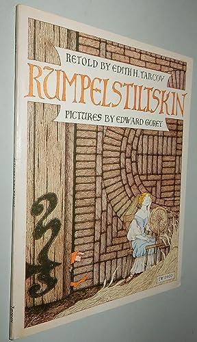 RUMPELSTILTSKIN, A Tale Told Long Ago by: Gorey, Edward, illus.