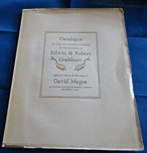 Catalogue of Some Five Hundred Examples of the Printing of Edwin & Robert Grabhorn Offered For Sa...