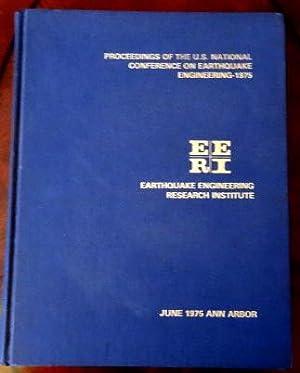 Proceedings of U.S. National Conference on Earthquake: Berg, Glen V.