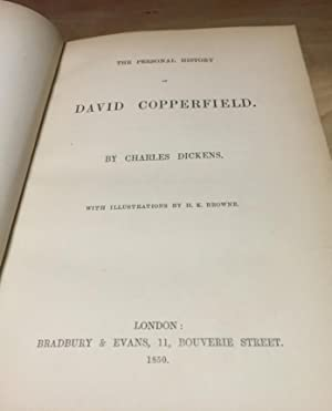 The Personal History of David Copperfield: Charles Dickens