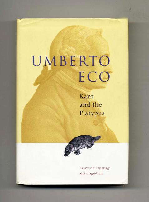 kant and the platypus essay on language and cognition In these essays, umberto eco explores in depth such subjects as perception, the relationship between language and experience, and iconism that he only touched on in a theory of semiotics forgoing a formal, systematic treatment, eco engages in a series of explorations based on common sense, from which flow an abundance of illustrative fables.