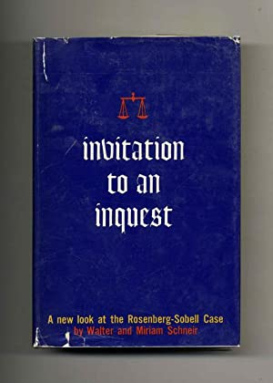Invitation to an Inquest - 1st Edition/1st: Schneir, Walter and