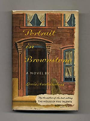 Portrait in Brownstone - 1st Edition/1st Printing: Auchincloss, Louis