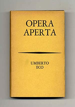 Opera Aperta [The Open Work], Forma E Interdeterminazione Nelle Poetiche Contemporanee - 1st Edit...