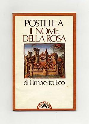 Postille A Il Nome Della Rosa -: Eco, Umberto