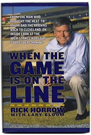 When the Game is on the Line - 1st Edition/1st Printing