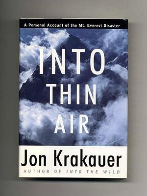 Into Thin Air - 1st Edition/1st Printing: Krakauer, Jon