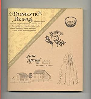 Domestick Beings - 1st Edition/1st Printing: Sprigg, June