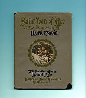 Saint Joan Of Arc - 1st Edition: Twain, Mark [;