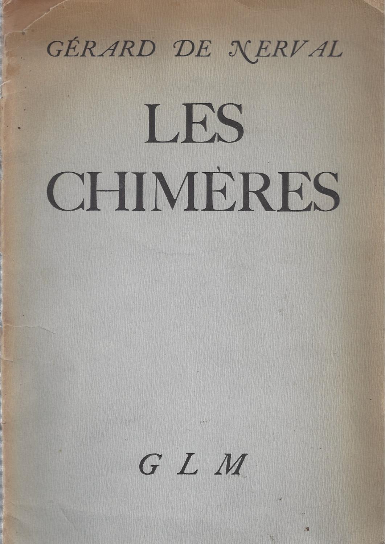 LES CHIMÈRES Nerval, Gérard de [Good] [Softcover] (bi_12403140511) photo