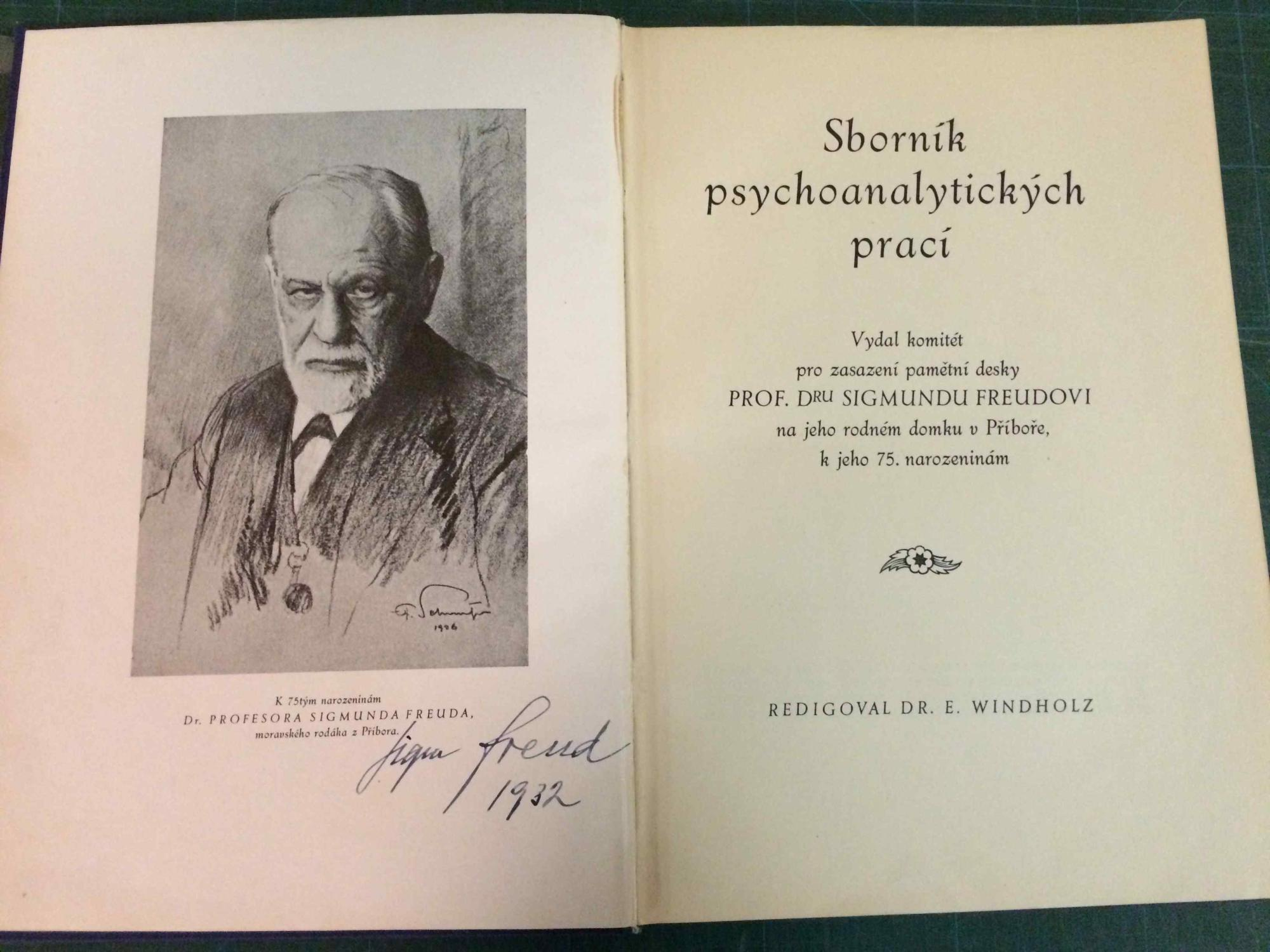 sigmund freud signed