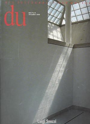 DU, Die Zeitschrift für Kultur, Heft Nr.11: Bachmann, Dieter -