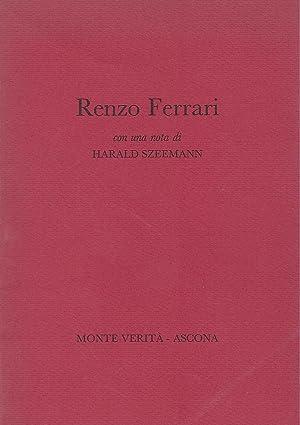 Renzo Ferrari - disegni - acqueforti -: Szeemann, Harald -