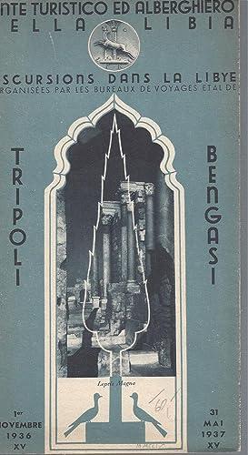 TRIPOLI BENGASI EXCURSIONS DANS LA LIBYE -