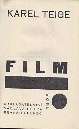 FILM - signed by Karel Teige