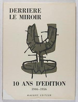 Derriere Le Miroir - 10 ANS D'EDITION: Limbour, Georges -