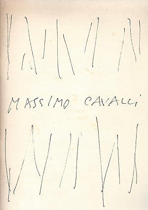 MASSIMO CAVALLI Acquarelli Tempere Disegni 1976 -: Cattori, Giuseppe -