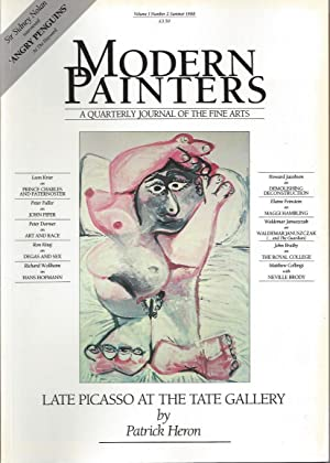 MODERN PAINTERS A quaterly Journal of the: Krier, Leon -