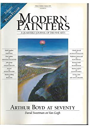 MODERN PAINTERS A quaterly Journal of the: Fuller, Peter -