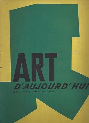 ART d'aujourd'hui - Série 3 - numero: Bloc, André -