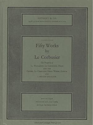 CATALOGUE OF FIFTY WORKS BY LE CORBUSIER, The Property of La Fondation Le Corbusier, Paris, and t...